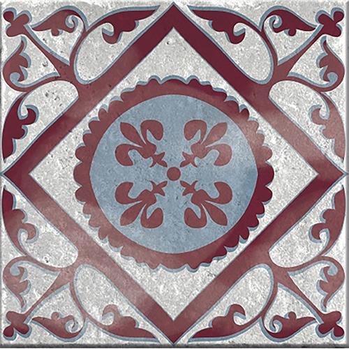 Sticker autocollant Antico Marvao gris pour décoration intérieure de carrelage