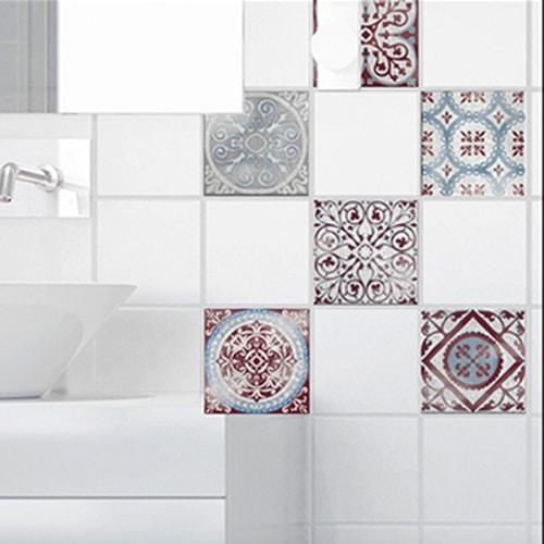 Sticker pour carrelage de salle de bain Antico Marvao