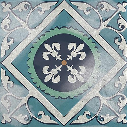 sticker adhésif gris collection Antico Evora pour carrelage mural