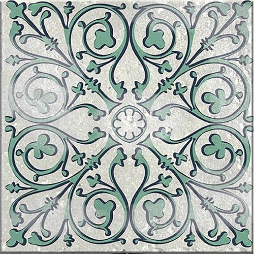 Sticker autocollant gris décoration intérieure Antico Evora pour carrelage