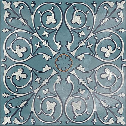Sticker adhésif déco gris carrelage motif Antico Evora