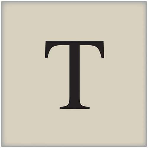 Adhésif alphabet lettre