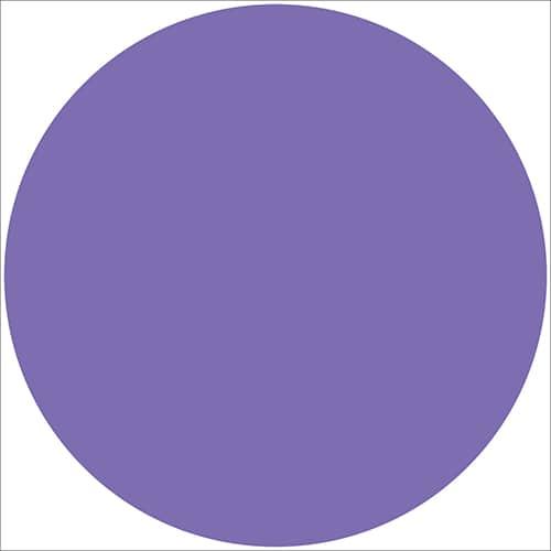 Sticker autocollant rond violet pour décoration d'intérieur