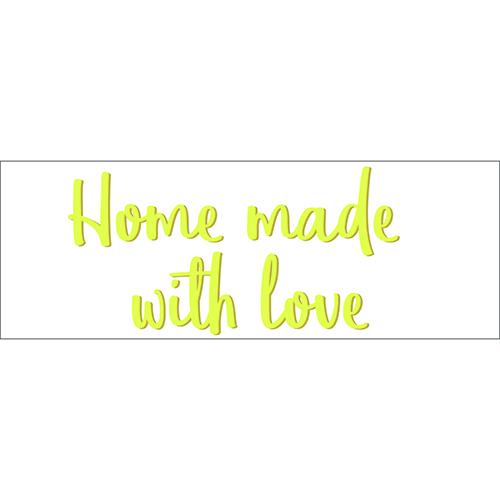 Sticker adhésif décoration d'intérieur citation amour cuisine design