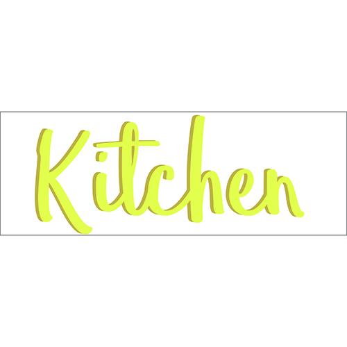 Sticker autocollant mural décoration cuisine kitchen