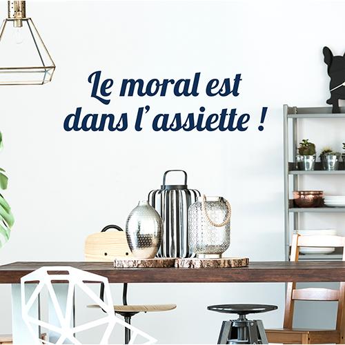 Sticker mural pour cuisine