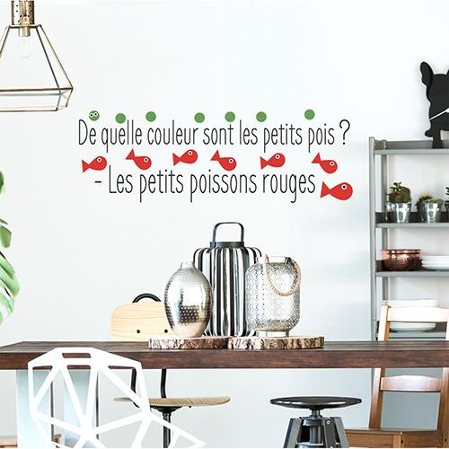 Sticker cuisine humour et fantaisie