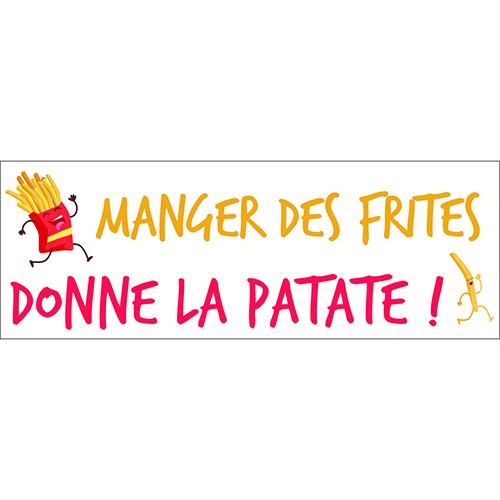 Sticker adhésif pour mur décoration d'intérieur cuisine citation humour