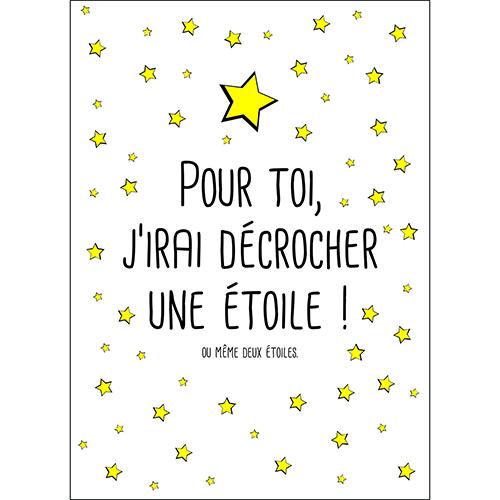 Sticker autocollant étoiles noir et jaune pour decoration de maison