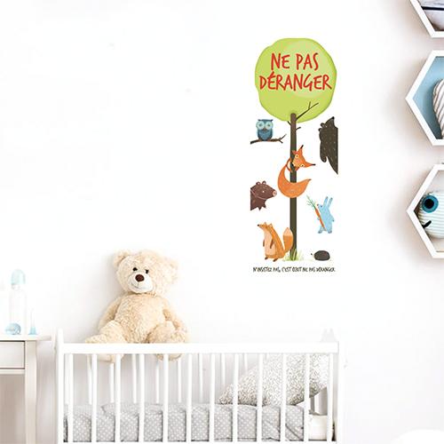 Adhésif decoration pour chambre d'enfant