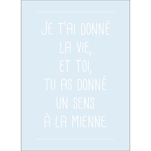 Sticker adhésif citation amour gris pour deco pour murs enfant