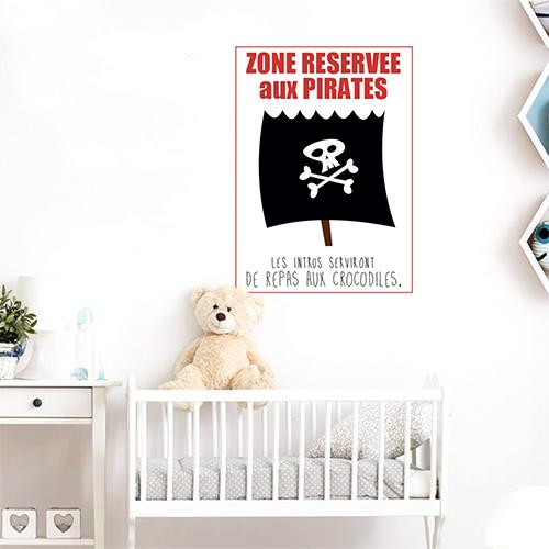 Adhésif décoration de chambre d'enfant citation