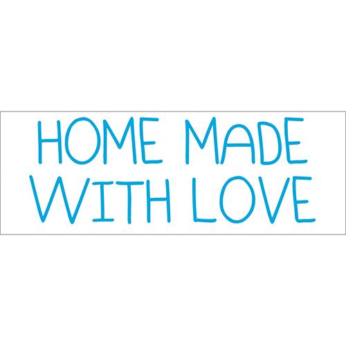 Sticker adhésif decoration de maison citation d'amour