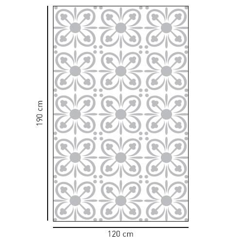 sticker décoratif adhésif pétales de fleur pour portes de douches