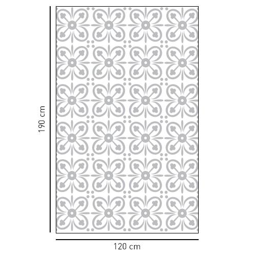 sticker décoratif adhésif petit pétales pour porte de douches