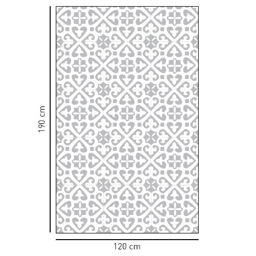 sticker décoratif adhésif style Moyen Orient pour salle de bain