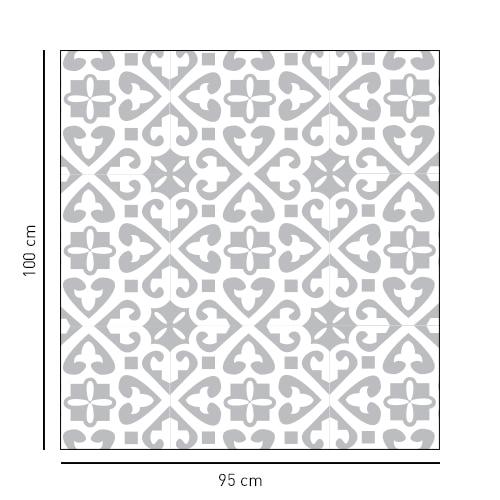 Sticker style Moyen Orient, petit motifs pour salle de bain