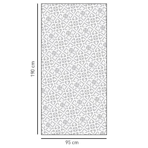 Sticker autocollant petit motifs Moyen Orient en diagonale