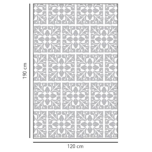 sticker décoratif adhésif pour douche motif feuille