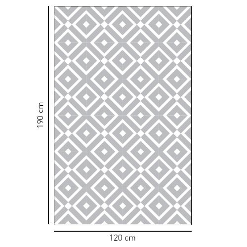 sticker décoratif adhésif motif méditerranéen pour salle de bain