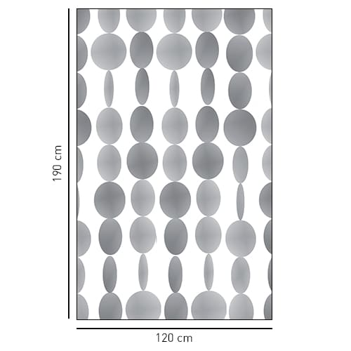 Sticker adhésif Perles pour salle de bain