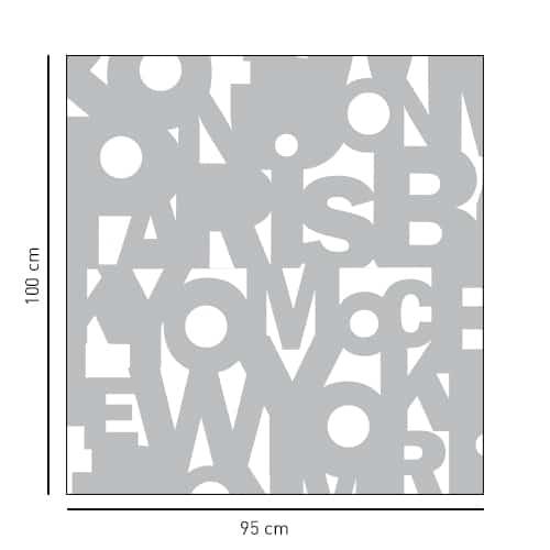 Sticker salle de bain déco Capitales pour douche