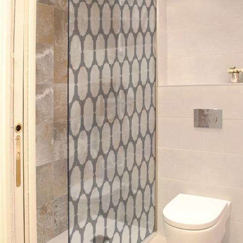 Sticker autocollant Gastby dans une salle de bain