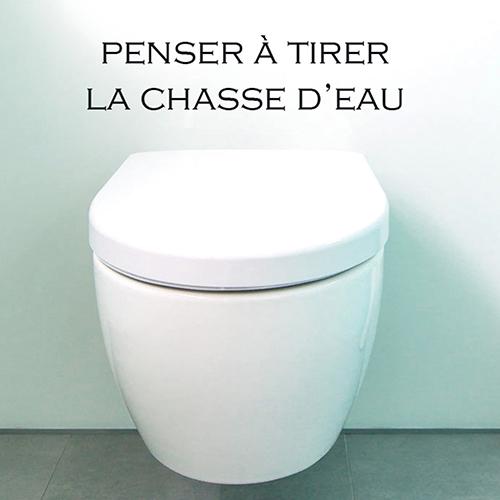 stickers muraux toilettes - Refaites votre Déco murale sans ...