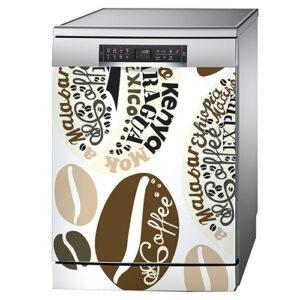 """Sticker """"Arabica"""" pour lave-vaisselle"""