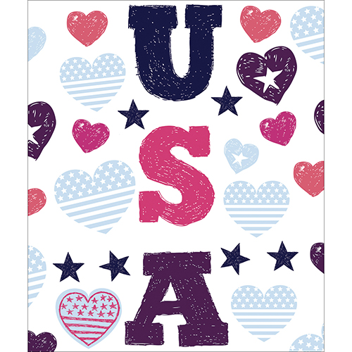 Sticker autocollant pour électroménager USA