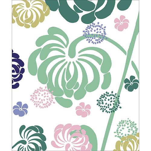 Stickers Petite fleur déco pour lave vaisselle