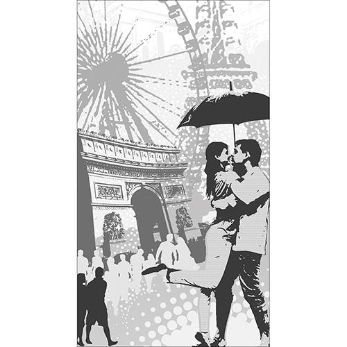 Sticker déco électroménager Paris
