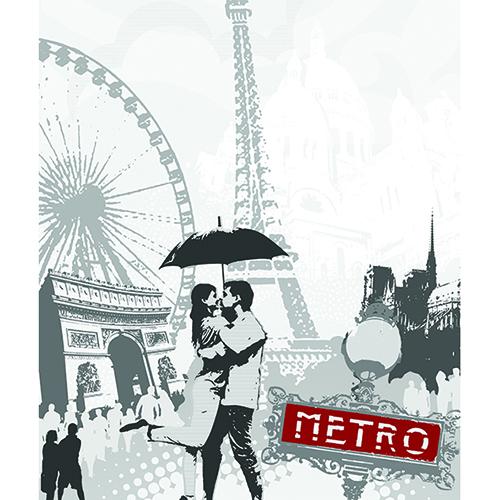 Sticker pour lave-vaisselle Paris
