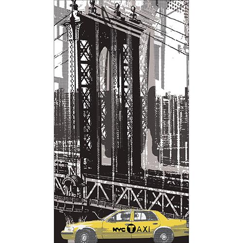 Sticker New York pour frigo américain