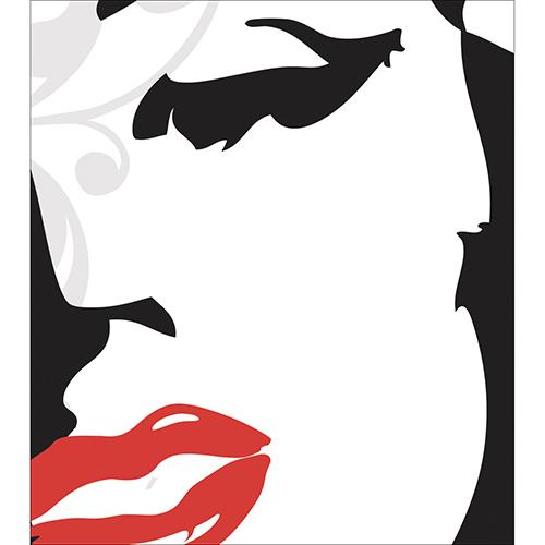 Sticker pour placard de cuisine de la gamme Marilyn