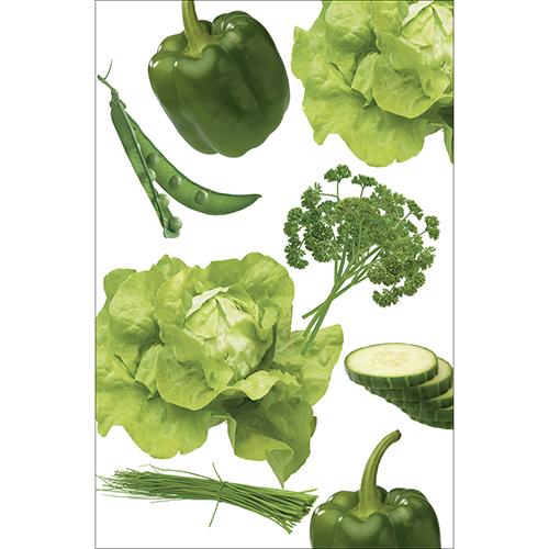Sticker autocollant pour petit frigo Légumes du potager