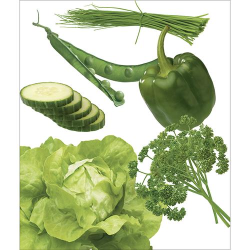 Sticker Lave-vaisselle de la gamme Légumes du potager