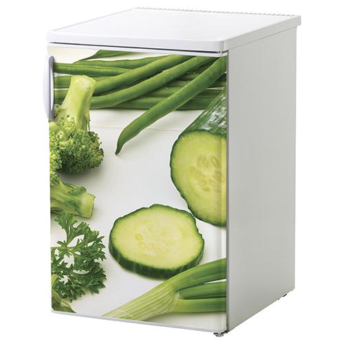 Sticker autocollant déco légumes verts pour frigo bmanc