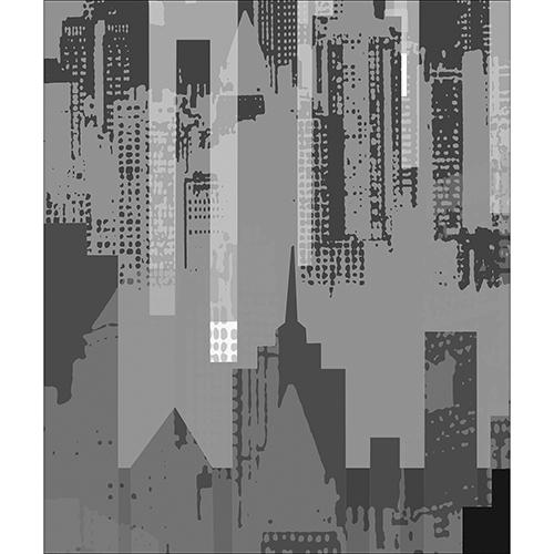 Sticker new-york pour déco gris de lave vaisselle