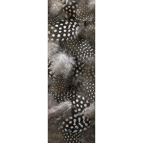 Sticker décoratif pour grand frigo modèle duvet de plumes