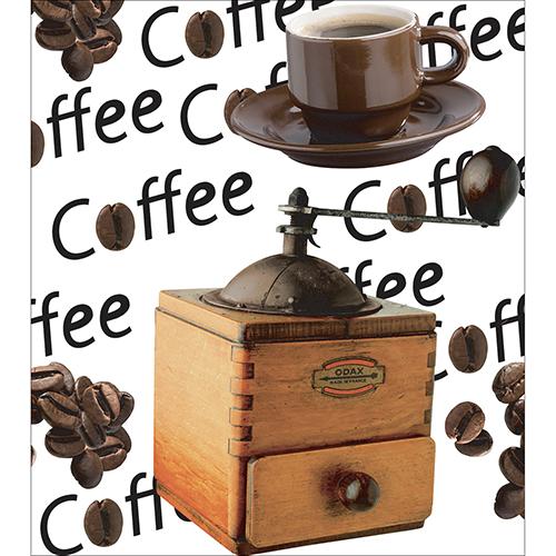 Sticker décoratif pour placards de cuisine grain de coffee