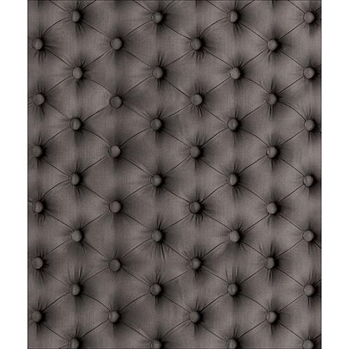 Sticker adhésif décoratif pour lave vaisselle motif capiton gris
