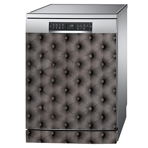 Lave vaisselle classique couleur aluminium orné d'un lave vaisselle classique