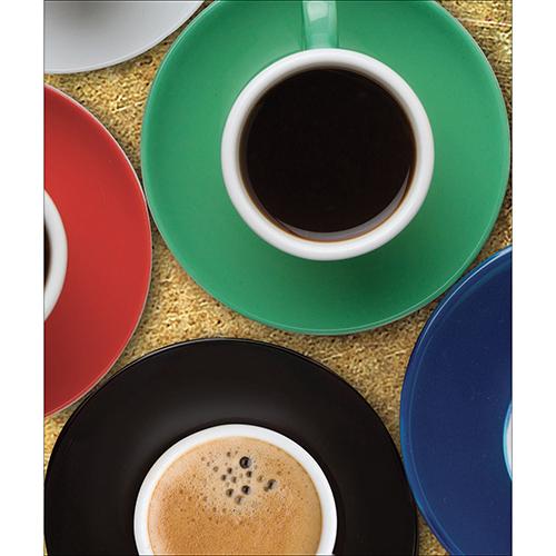 Sticker autocollant décoratif pour lave vaisselle modèle tasse de café