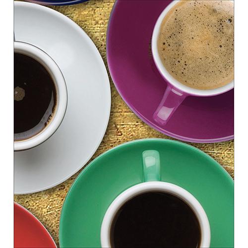 Sticker autocollant décoratif pour placard de cuisine modèle Tasse de café