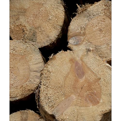 Sticker adhésif pour lave vaisselle imitation buches de bois
