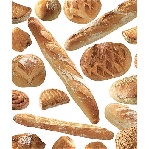 Sticker décoratif autocollant pour lave vaisselle de cuisine motif Boulangerie