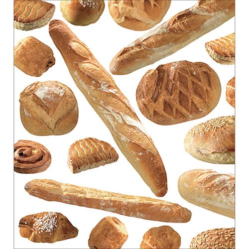 Sticker déco autocollant pour meubles de cuisine modèle Boulangerie