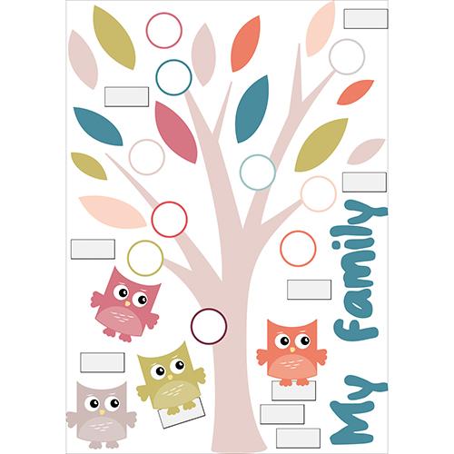 Sticker mural décoratif
