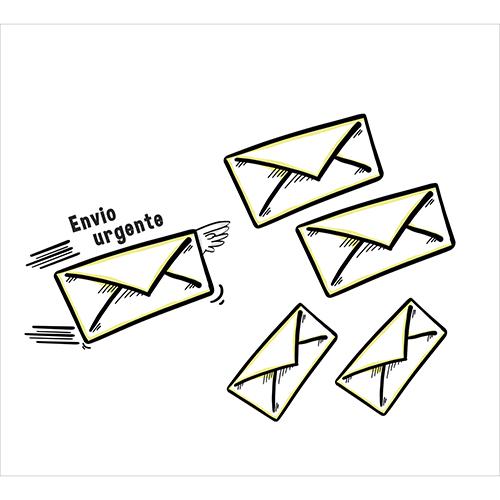 Sticker décoratif adhésif motif lettres volante pour envie pressante